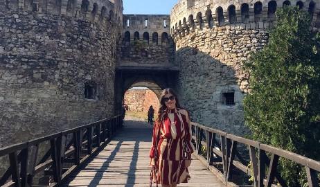 burgundy-dress