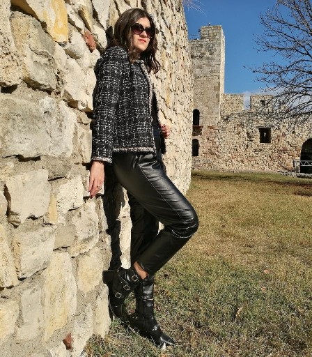 Tweed & Leather Outfit Ideas SHEIN Black Friday