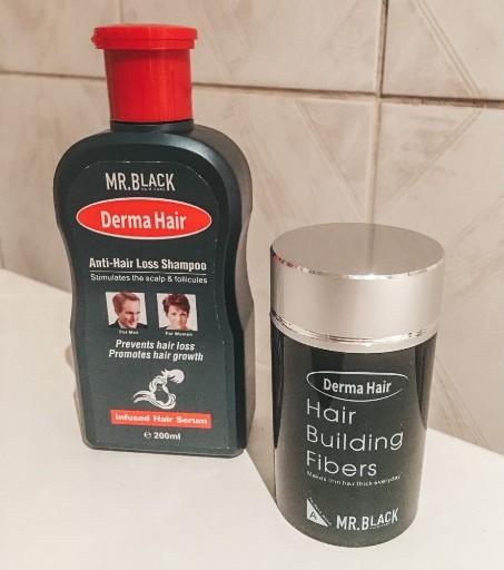 mr black derma hair sampon i fiberi za kosu