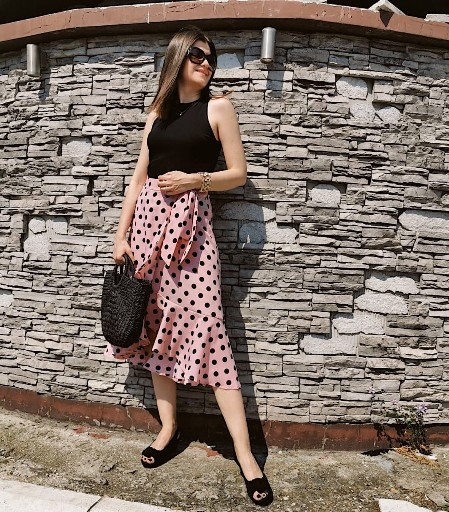 Polka Dots Outfit Idea