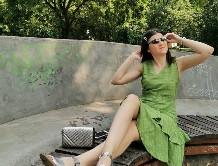 pistachio green dress