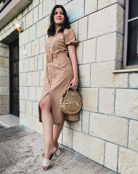safari style dress