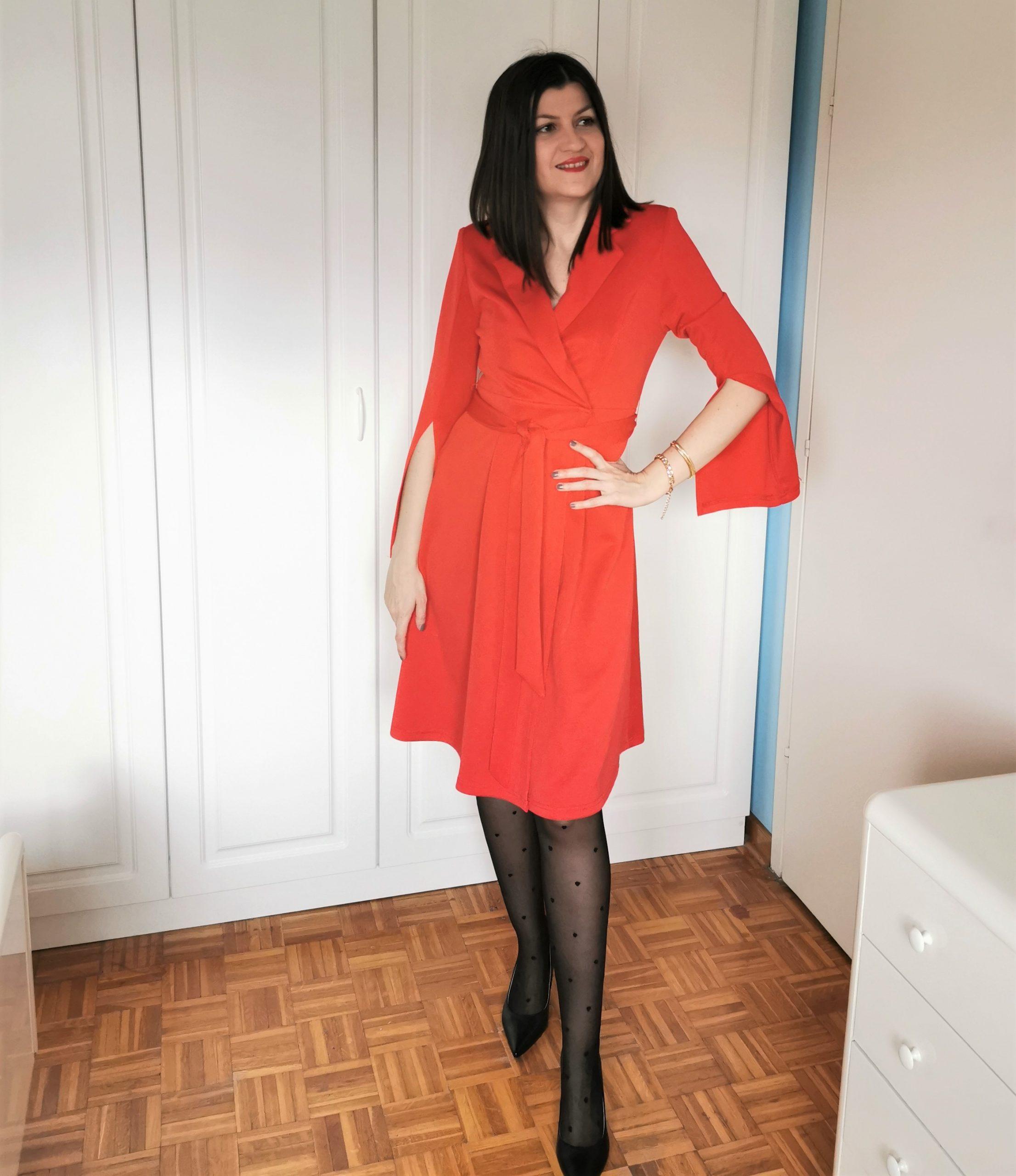 timeless wardrobe pieces / shein red dress