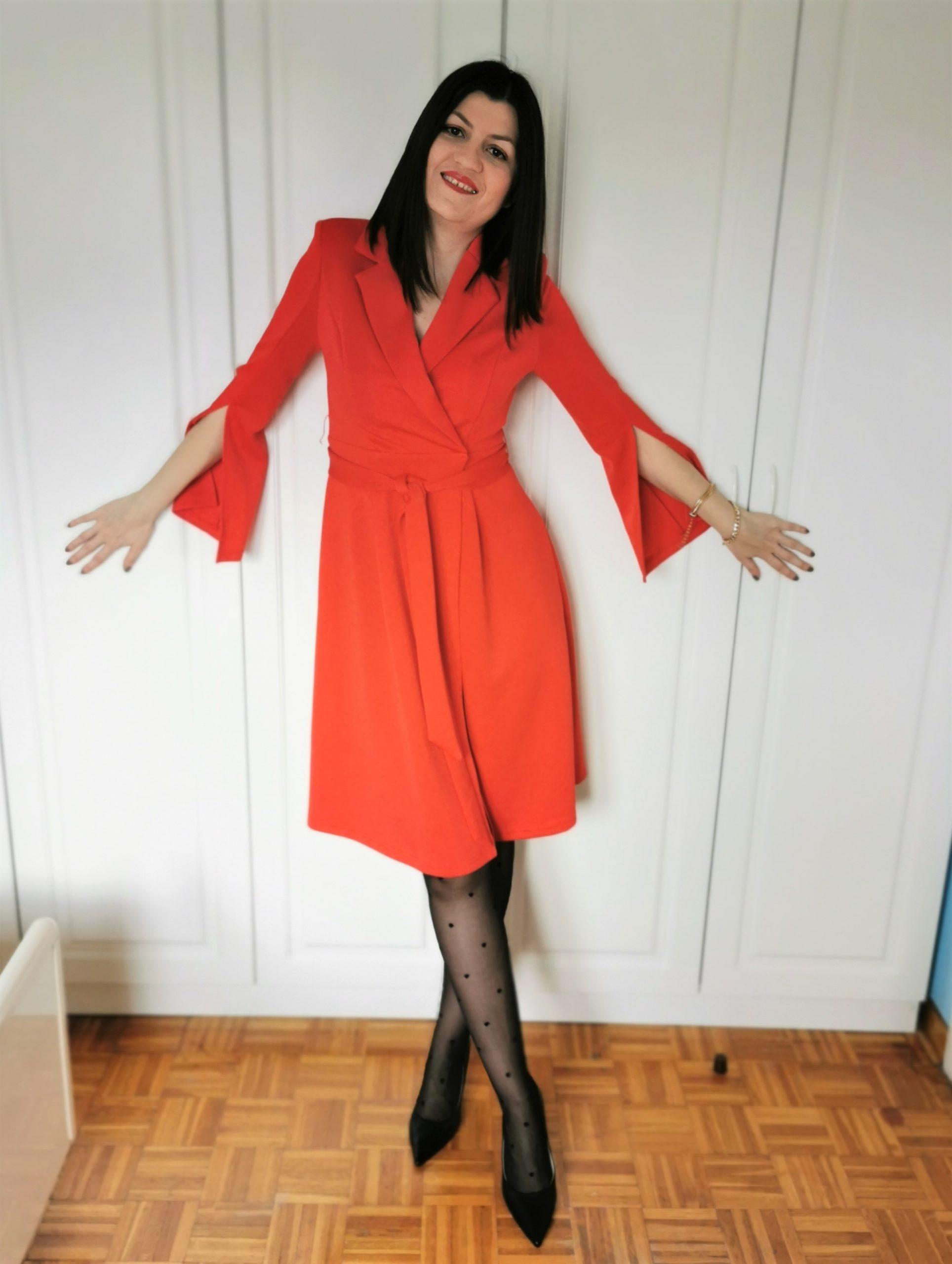 shein blazer dress