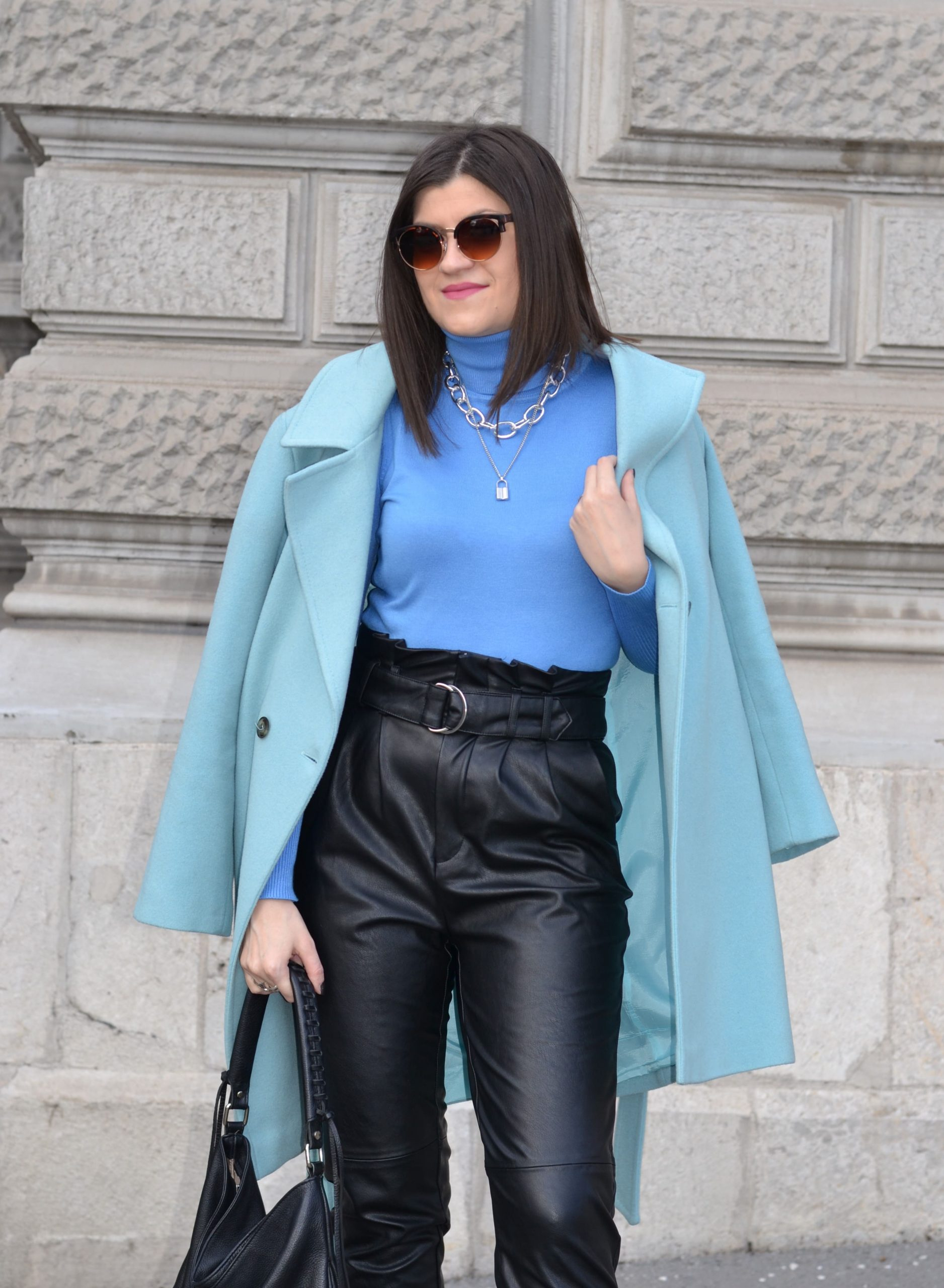 Spring Blue Outfit Idea