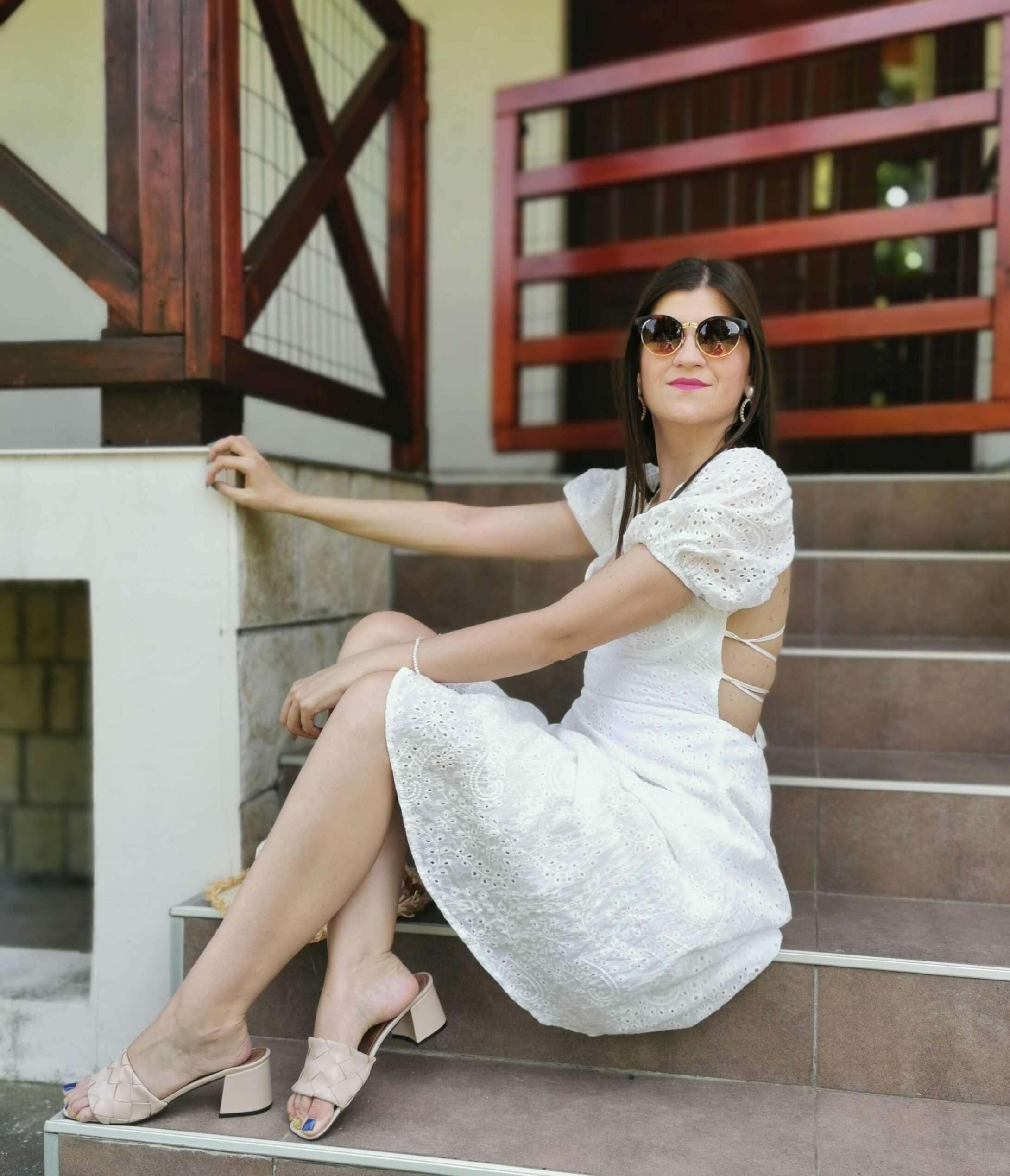 white dress for summer 2021