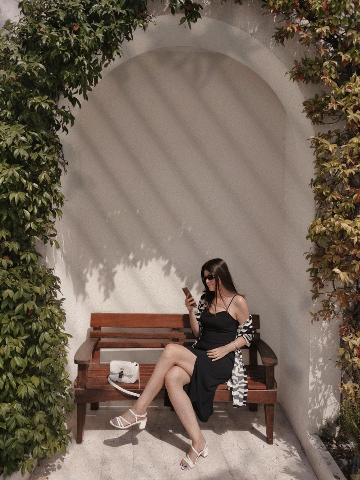lady in porto montenegro