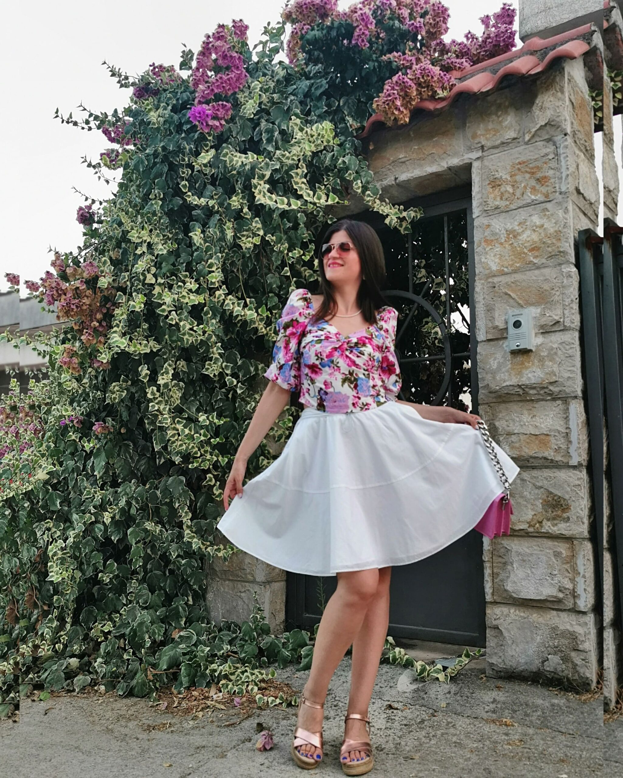 floral outfit idea